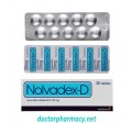 10 Strips (100 Tablets) of Nolvadex-D (Tamoxifen) 20mg