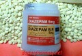 1 Bottle (1000 Tablets) of Generic Diazepam 5mg