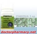 400 Tablets in 2 Bottles of Stanozolol 5 mg By LA Pharma